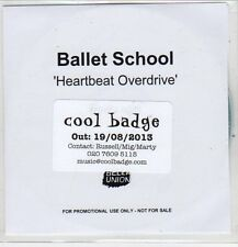 (EP945) Ballet School, Heartbeat Overdrive - 2013 DJ CD