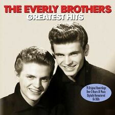 THE EVERLY BROTHERS - GREATEST HITS - 75 ORIGINAL RECORDINGS (NEW SEALED 3CD)