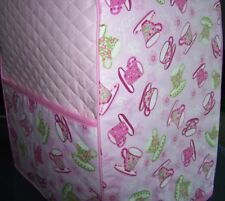 Tea Party Teacups Quilted Cover - KitchenAid Mixer New