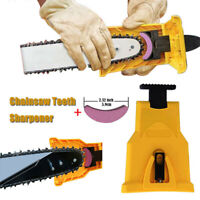 "Chainsaw Teeth Sharpener Fast Sharpening Kit Bar Mounted Chain Saw 14""16""18""20"""