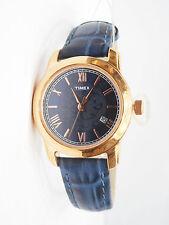 TIMEX Analog Trendy Blue Strap Copper Plated Watch for Women & Girls TWEL11504