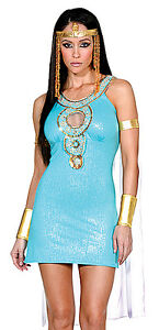 Queen of the Nile Costume, Dreamgirl 5077, Sexy Adult 6 Piece, Size S, M, L