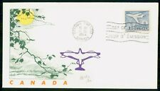 Canada Fdc 1964 Cover Aviation 7c Issue