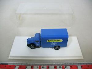 K433-0, 3 #1x Brekina H0 / 1:87; 4014, Mercedes-benz MB, Continental Tyre, Box