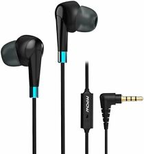 Mpow WH7 3.5mm Wired Earphone In-Ear HiFi Stereo Headphone For iPhone Samsung LG