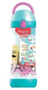 Maped PICNIK Trinkflasche CONCEPT Paris Fashion 0,58l BPA frei Kinder Schule