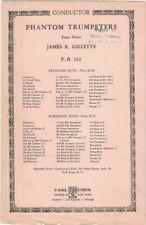 PHANTOM TRUMPETERS Tone Poem for Symphonic Band James R. Gillette - Carl Fischer