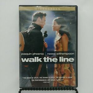 Walk the Line (DVD, 2006, Widescreen) Joaquin Phoenix, Reese Witherspoon.