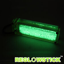 TRITIUM X™ FLUORESCENCE KEYCHAIN - FIREFLY PLUS™ - GREEN LIGHT MARKER GLOW STICK