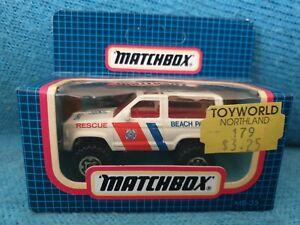 Matchbox Superfast 35 Ford Bronco II MIB