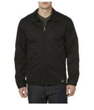 Diehard Men's Quilted Lined Black Canvas Pointed Collar Jackets Coat
