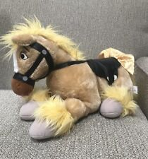 "Disney Store Princess Belle's Pony Horse 18"" Plush Stuffed Retired Rare"