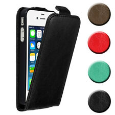 Case for Apple iPhone 4 4S Protective FLIP Magnetic Phone Cover Etui
