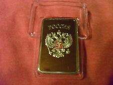 30 GRAMM FINE GOLDBARREN/RUSSIA /999 FEINGOLD/ FILLED !