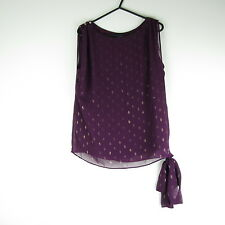 Dorothy Perkins Purple Blouse/Top Size 8 (Clothing/Fashion/Style/Party/Comfort)