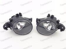 1Pair Clear Lens Fog Lights w/Bulbs For Nissan Altima Sedan 2007-2012