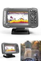 Fish Finder HOOK2 Bullet Transducer GPS Plotter 2-in-1 Sonar Fishing Sports New