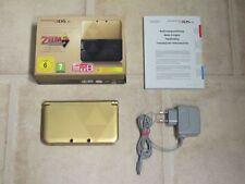 Nintendo 3DS XL Gold - Schwarz Zelda Edition *Guter Zustand* *OVP*