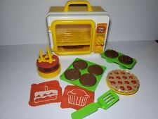 Vintage 1982 Child Guidance Magic Glow Oven Playset CBS Toys Complete GUC