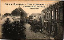 CPA Cidrerie solesmoise - Vins et spiritueux - cartegnie freres  (193369)