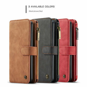 2in1 Detachable Magnetic Leather Flip Cover Wallet Cases For Huawei P30 Pro Lite