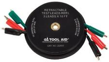 Sg Tool Aid 22830 Retractable Test Leads Reel-3 Leads X 10'