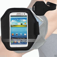 Black Running GYM Armband Case Cover For HTC ONE X XL AU