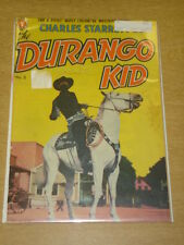 DURANGO KID #2 FN- (5.5) MAGAZINE ENTERTAINMENT COMICS DECEMBER 1949