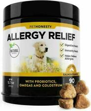 New listing PetHonesty Allergy Relief Immunity Dog Supplement Tablets - 90 Ct (Exp-11/2021)