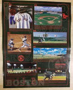 "Boston Red Sox Bill Goff Poster 28"" x 22"" Sports Ted Williams Fenway Park BoSox"