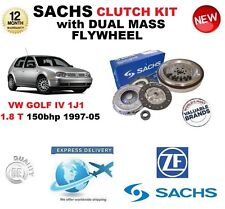 FOR VW GOLF IV 1J1 1.8 T 150bhp SACHS CLUTCH KIT 1997-2005 with FLYWHEEL & BOLTS