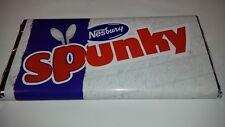 SPUNKY CHOCOLATE BAR, NOVELTY GREAT GIFT / PRESENT FUN GIFT