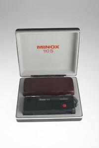 Minox 110S incl. Lederetui und Schatulle