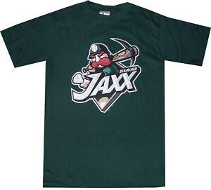 West Tennessee Diamond Jaxx Minor League Mens Majestic T Shirt New No tags