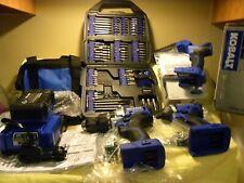 New ListingKobalt 2 Tool 24v Cordless 1/2' Hammer Drill 1/4' Impact Kit 0790022 w/ Light