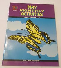 MAY MONTHLY ACTIVITIES FOR KINDERGARTEN, GRADE 1 (1ST, FIRST)  NEW