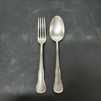 VTG WMF Patent 90 30 Silverplate Fork Spoon Set