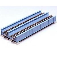 Kato 20-455 Pont Plat Voie Double / Double Track Plate Bridge 186mm - N