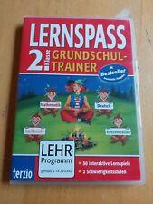 Lernspass 2. Klasse Grundschultrainer 50 Lernspiele Mathe Deutsch Sachkunde