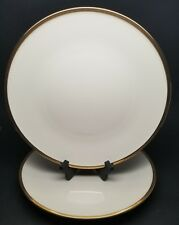 "Lenox ETERNAL GRANDE 11-3/4"" LARGE Dinner Plate Platter Ivory w/ Gold Trim EUC"