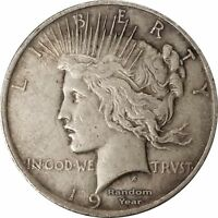 Random Year 1922-1926 $1 Peace Silver Dollar Average Circulated