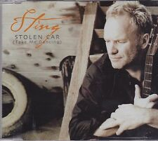 Sting-Stolen Car Promo cd maxi single 3 tracks