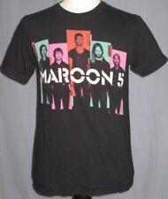 2013 Maroon 5 Five Adult Medium Black Concert T-Shirt w/ Adam Levine ( M )