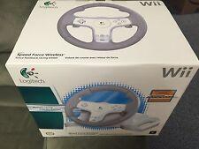 New Logitech Speed Force Racing Wheel for Nintendo Wii