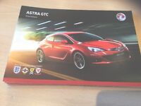 Vauxhall Astra GTC Range Highlights Brochure, June 2011, GTC Sport, GTC SRi