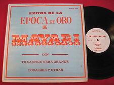 EXITOS DE LPA EPOCA DE OR DE CAURTETO MAYARI - ANTOR 001 RARE LATIN LP VENEZUELA