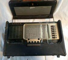 Zenith Portable TransOceanic  Shortwave Radio Model A600