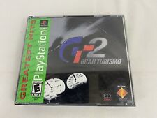 Gran Turismo 2 (Sony PlayStation 1, 1999) Greatest Hits Complete w/Manuals