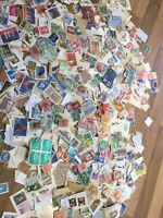 World Stamps On /off paper vintage - modern commonwealth unchecked lot 2 ww22