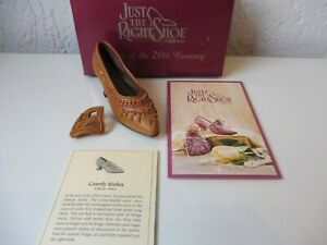 Just The Right Shoe ___ Courtly Riches ____ 25040 Défectueux ___